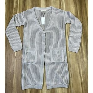 NWT ANTHROPOLOGIE CURRENT AIR KNIT CARDIGAN